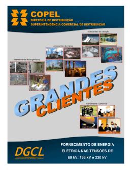 FORNECIMENTO DE ENERGIA ELÉTRICA NAS TENSÕES