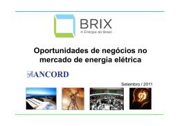 Oportunidades de negócios no mercado de energia elétrica