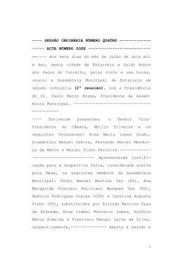 acta ord. 07.07.10 _2º reunião - Câmara Municipal de Estarreja