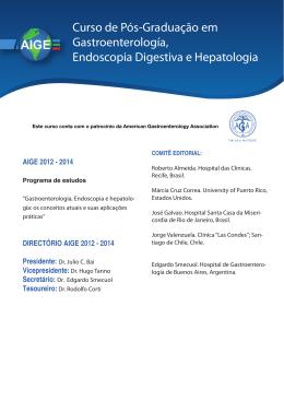 Curso de Pós-Graduação em Gastroenterología