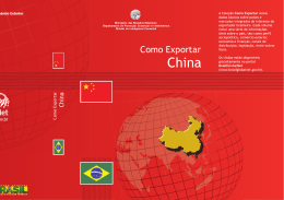 China (2013) - Invest & Export Brasil