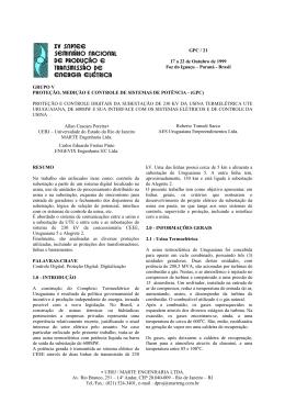∗ UERJ / MARTE ENGENHARIA LTDA. Av. Rio Branco, 251 – 14º