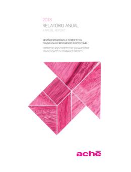2013 RelatóRio anual