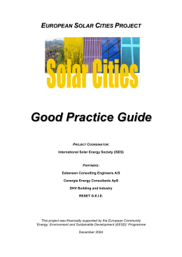 Good Practice Guide