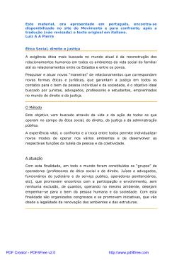 Este material, ora apresentado em português, encontra