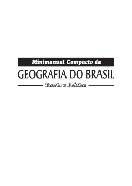 Geografia do Brasil manual completo