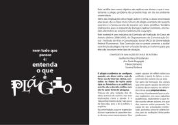 Cartilha sobre plágio acadêmico - Universidade Federal Fluminense