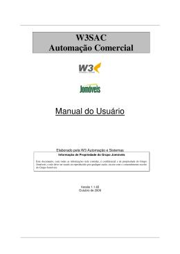 W3SAC Automação Comercial