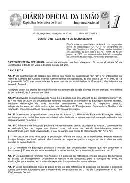 Decreto 7232