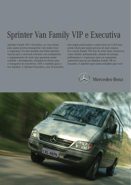 29edf8c2f2e Dados Técnicos Sprinter Van Family VIP e Executiva - Mercedes-Benz