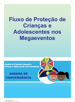 Fluxo de Proteção de Crianças e Adolescentes nos Megaeventos