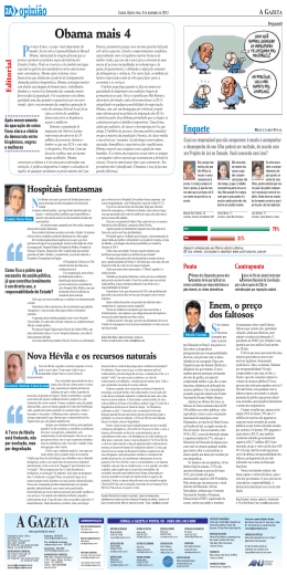 2A opinião - Gazeta Digital