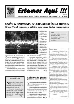 Abril 99.p65 - Núcleo Espírita Assistencial Paz e Amor