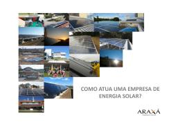 COMO ATUA UMA EMPRESA DE ENERGIA SOLAR?