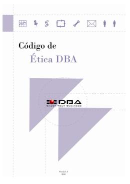 Código de Ética - DBA Engenharia de Sistemas