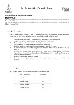 312_EconomiaC_infProva2015 - Escola Secundária Dr. José Afonso