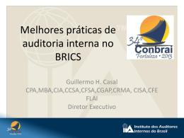 Melhores práticas de auditoria interna no BRICS