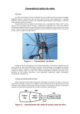 Convergência de Redes