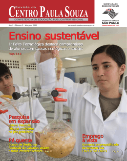 Março Edição nº 05 - Centro Paula Souza