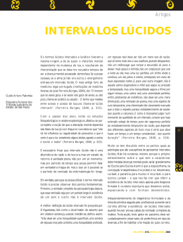 INTERVALOS LÚCIDOS