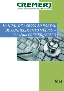 manual de acesso ao portal do conhecimento médico