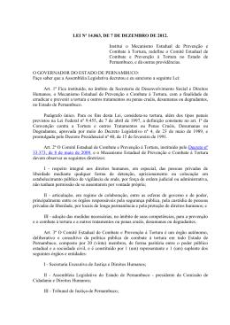 Lei nº 14.863 (Dezembro de 2012)