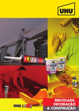 Catálogo UHU – Bricolage, Decoração & Construção