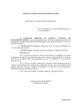 AGÊNCIA NACIONAL DE TELECOMUNICAÇÕES