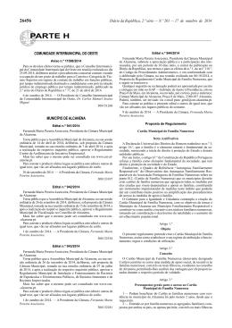 Aviso nº 11598/2014 - Anulação de Procedimento