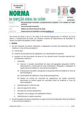 Norma nº 037/2012 de 30/12/2012 - Direcção