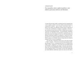 mito(s): percursos teóricos em literatura