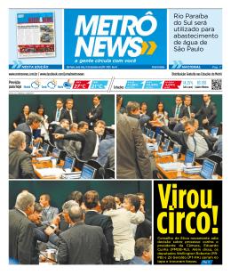 + VEJA MAIS - Metrô News