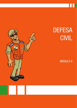 Modulo II - Coordenadoria Estadual de Proteção e Defesa Civil do
