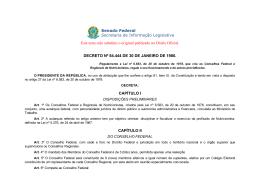 Senado Federal Secretaria de Informação Legislativa Este
