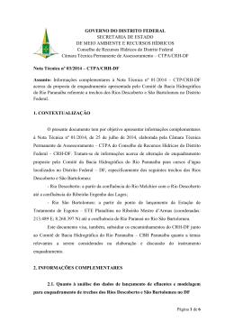 GOVERNO DO DISTRITO FEDERAL SECRETARIA DE