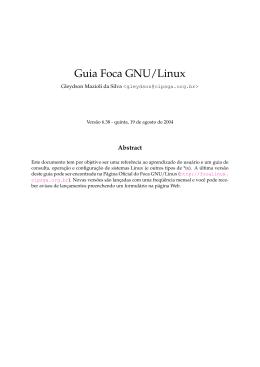 Guia Foca GNU/Linux