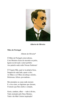 As Mães de Portugal .Alberto de Oliveira