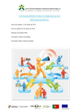 UFCD 649-ESTRUTURA E COMUNICAÇÃO ORGANIZACIONAL