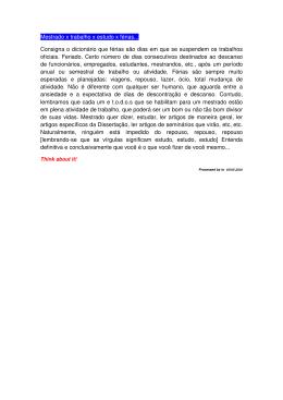 30. Mestrado x trabalho x estudo x férias... (arquivo PDF, 18KB)