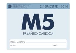 Caderno Pedagógico Matemática - 5º Ano