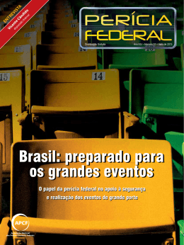 Brasil: preparado para os grandes eventos Brasil: preparado