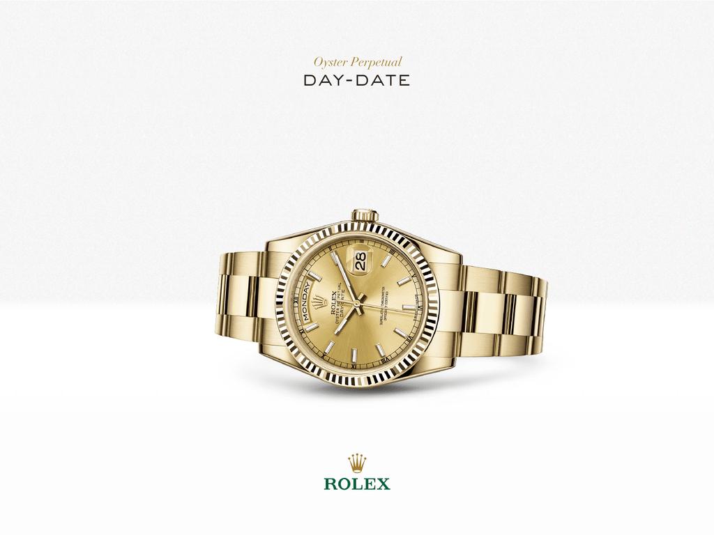 8ff6eb4cbfb Relógio Rolex Day-Date - Rolex