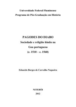 Texto da Dissertação em PDF disponível aqui