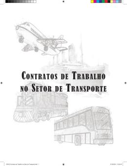 contratos de trabalho no setor de transporte
