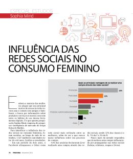 influência das redes sociais no consumo feminino