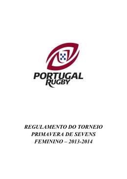 Regulamento do Torneio Primavera de Sevens Feminino 2013.2014