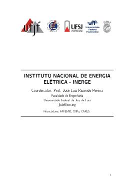 Relatório - Universidade Federal de Juiz de Fora