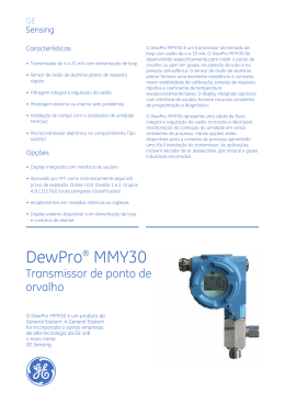 DewPro® MMY30 - GE Measurement & Control