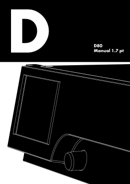 D80 Manual 1.7 PT - D&B Audiotechnik