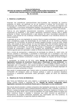 Termo de Referência ESTUDO DE DIREITO